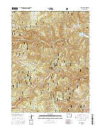 Raymond Colorado Current topographic map, 1:24000 scale, 7.5 X 7.5 Minute, Year 2016 from Colorado Map Store