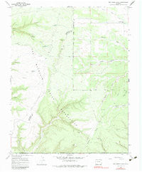 Red Horse Gulch Colorado Historical topographic map, 1:24000 scale, 7.5 X 7.5 Minute, Year 1966