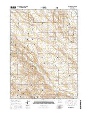 Reno Reservoir Colorado Current topographic map, 1:24000 scale, 7.5 X 7.5 Minute, Year 2016 from Colorado Maps Store
