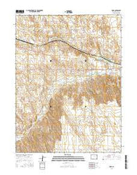 Robb Colorado Current topographic map, 1:24000 scale, 7.5 X 7.5 Minute, Year 2016