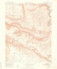 Roc Creek Colorado Historical topographic map, 1:24000 scale, 7.5 X 7.5 Minute, Year 1949