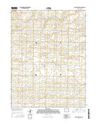 Saint Petersburg Colorado Current topographic map, 1:24000 scale, 7.5 X 7.5 Minute, Year 2016