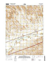 Sedgwick Colorado Current topographic map, 1:24000 scale, 7.5 X 7.5 Minute, Year 2016