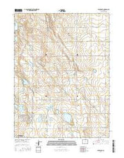 Severance Colorado Current topographic map, 1:24000 scale, 7.5 X 7.5 Minute, Year 2016 from Colorado Maps Store