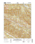 Shawnee Colorado Current topographic map, 1:24000 scale, 7.5 X 7.5 Minute, Year 2016 from Colorado Map Store