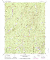 Signal Butte Colorado Historical topographic map, 1:24000 scale, 7.5 X 7.5 Minute, Year 1954
