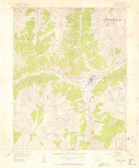 Silverton Colorado Historical topographic map, 1:24000 scale, 7.5 X 7.5 Minute, Year 1955