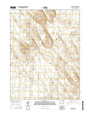 Snyder Lake Colorado Current topographic map, 1:24000 scale, 7.5 X 7.5 Minute, Year 2016 from Colorado Maps Store