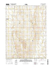 South Roggen Colorado Current topographic map, 1:24000 scale, 7.5 X 7.5 Minute, Year 2016 from Colorado Maps Store