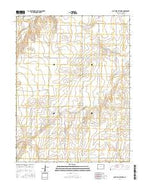 South of Bethune Colorado Current topographic map, 1:24000 scale, 7.5 X 7.5 Minute, Year 2016 from Colorado Map Store