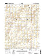 South of Burlington Colorado Current topographic map, 1:24000 scale, 7.5 X 7.5 Minute, Year 2016 from Colorado Map Store