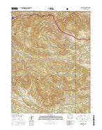 Squaw Pass Colorado Current topographic map, 1:24000 scale, 7.5 X 7.5 Minute, Year 2016 from Colorado Map Store