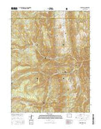 Stony Ridge Colorado Current topographic map, 1:24000 scale, 7.5 X 7.5 Minute, Year 2016 from Colorado Map Store