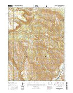 Sugarloaf Mountain Colorado Current topographic map, 1:24000 scale, 7.5 X 7.5 Minute, Year 2016 from Colorado Map Store