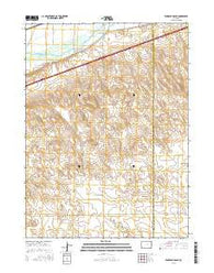 Tamarack Ranch Colorado Current topographic map, 1:24000 scale, 7.5 X 7.5 Minute, Year 2016
