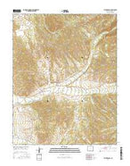 Taylor Ranch Colorado Current topographic map, 1:24000 scale, 7.5 X 7.5 Minute, Year 2016 from Colorado Map Store