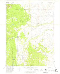 Teal Lake Colorado Historical topographic map, 1:24000 scale, 7.5 X 7.5 Minute, Year 1955