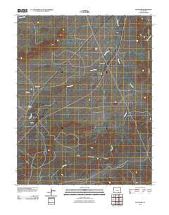 Thatcher Colorado Historical topographic map, 1:24000 scale, 7.5 X 7.5 Minute, Year 2010