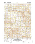 The Nipple SE Colorado Current topographic map, 1:24000 scale, 7.5 X 7.5 Minute, Year 2016 from Colorado Map Store