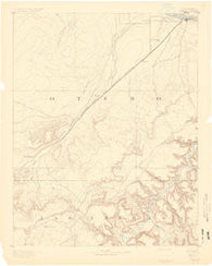 Timpas Colorado Historical topographic map, 1:125000 scale, 30 X 30 Minute, Year 1891
