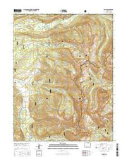Tincup Colorado Current topographic map, 1:24000 scale, 7.5 X 7.5 Minute, Year 2016 from Colorado Maps Store