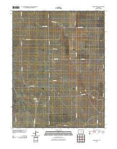 Todd Point Colorado Historical topographic map, 1:24000 scale, 7.5 X 7.5 Minute, Year 2010