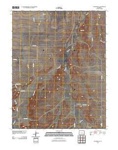 Toonerville Colorado Historical topographic map, 1:24000 scale, 7.5 X 7.5 Minute, Year 2010