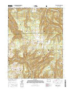 Triangle Park Colorado Current topographic map, 1:24000 scale, 7.5 X 7.5 Minute, Year 2016 from Colorado Map Store