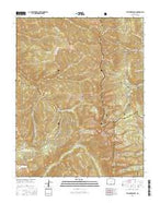 Trinchera Peak Colorado Current topographic map, 1:24000 scale, 7.5 X 7.5 Minute, Year 2016 from Colorado Map Store