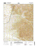 Trinchera Ranch Colorado Current topographic map, 1:24000 scale, 7.5 X 7.5 Minute, Year 2016 from Colorado Map Store