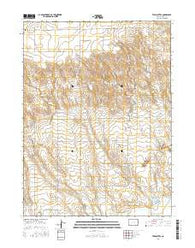 Twin Buttes Colorado Current topographic map, 1:24000 scale, 7.5 X 7.5 Minute, Year 2016