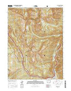Vail Pass Colorado Current topographic map, 1:24000 scale, 7.5 X 7.5 Minute, Year 2016 from Colorado Map Store