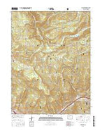 Vail West Colorado Current topographic map, 1:24000 scale, 7.5 X 7.5 Minute, Year 2016 from Colorado Map Store