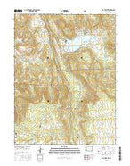 Vega Reservoir Colorado Current topographic map, 1:24000 scale, 7.5 X 7.5 Minute, Year 2016 from Colorado Map Store