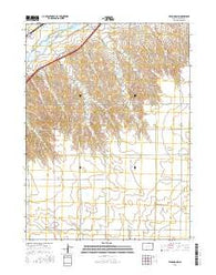 Venango NW Colorado Current topographic map, 1:24000 scale, 7.5 X 7.5 Minute, Year 2016