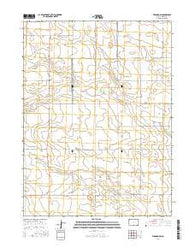 Venango SW Colorado Current topographic map, 1:24000 scale, 7.5 X 7.5 Minute, Year 2016