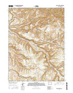 Vermillion Mesa Colorado Current topographic map, 1:24000 scale, 7.5 X 7.5 Minute, Year 2016 from Colorado Map Store
