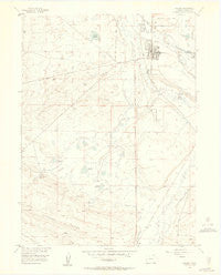 Walden Colorado Historical topographic map, 1:24000 scale, 7.5 X 7.5 Minute, Year 1955