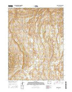 Wapiti Peak Colorado Current topographic map, 1:24000 scale, 7.5 X 7.5 Minute, Year 2016 from Colorado Map Store