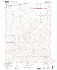 Watkins Colorado Historical topographic map, 1:24000 scale, 7.5 X 7.5 Minute, Year 1954
