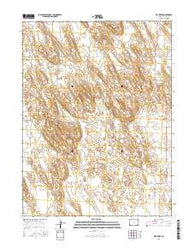 Wauneta Colorado Current topographic map, 1:24000 scale, 7.5 X 7.5 Minute, Year 2016