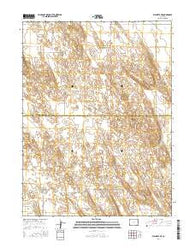 Wauneta NE Colorado Current topographic map, 1:24000 scale, 7.5 X 7.5 Minute, Year 2016