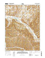 White River City Colorado Current topographic map, 1:24000 scale, 7.5 X 7.5 Minute, Year 2016 from Colorado Map Store