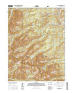 Willow Lakes Colorado Current topographic map, 1:24000 scale, 7.5 X 7.5 Minute, Year 2016 from Colorado Map Store