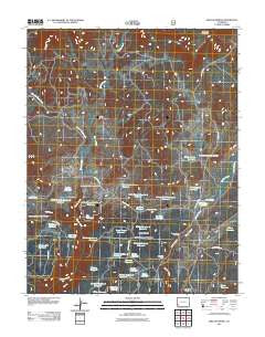 Willow Spring Colorado Historical topographic map, 1:24000 scale, 7.5 X 7.5 Minute, Year 2011