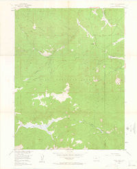 Windy Peak Colorado Historical topographic map, 1:24000 scale, 7.5 X 7.5 Minute, Year 1954