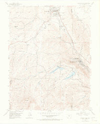 Woodland Park Colorado Historical topographic map, 1:24000 scale, 7.5 X 7.5 Minute, Year 1954