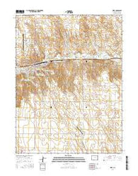 Wray Colorado Current topographic map, 1:24000 scale, 7.5 X 7.5 Minute, Year 2016
