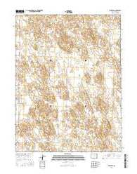 Wray NW Colorado Current topographic map, 1:24000 scale, 7.5 X 7.5 Minute, Year 2016