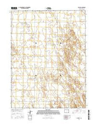 Yuma NE Colorado Current topographic map, 1:24000 scale, 7.5 X 7.5 Minute, Year 2016